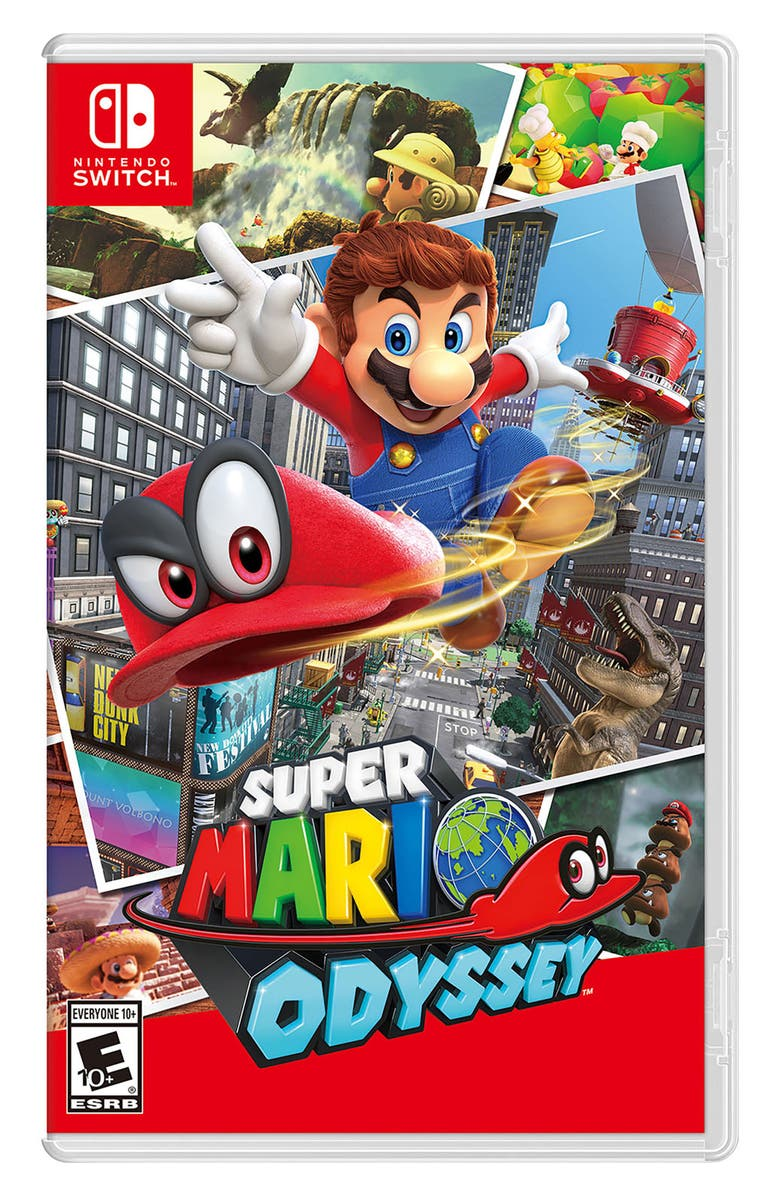 NINTENDO Switch Super Mario Odyssey, Main, color, 600