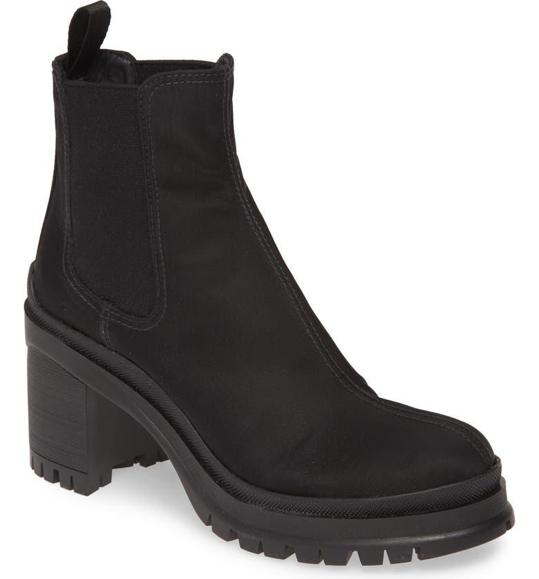 PRADA Chelsea Boot, Main, color, BLACK