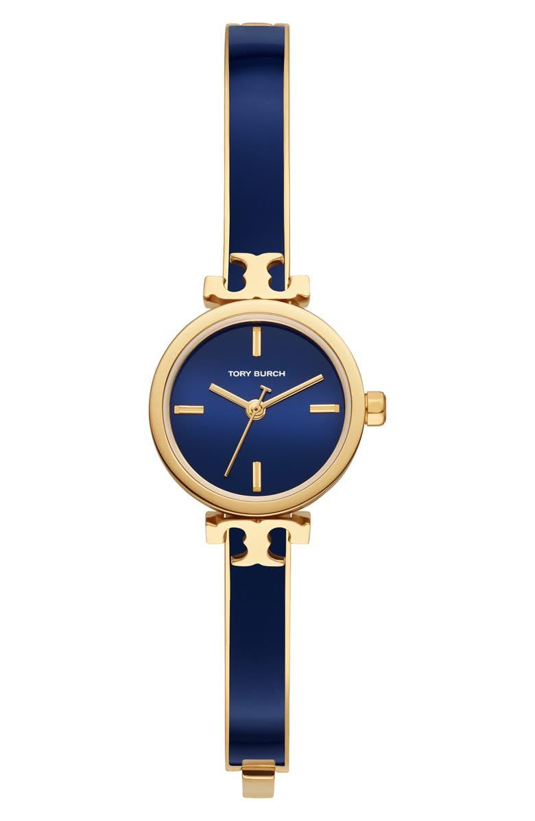토리버치 Tory Burch The Slim Navy Bangle Watch, 22mm,navy