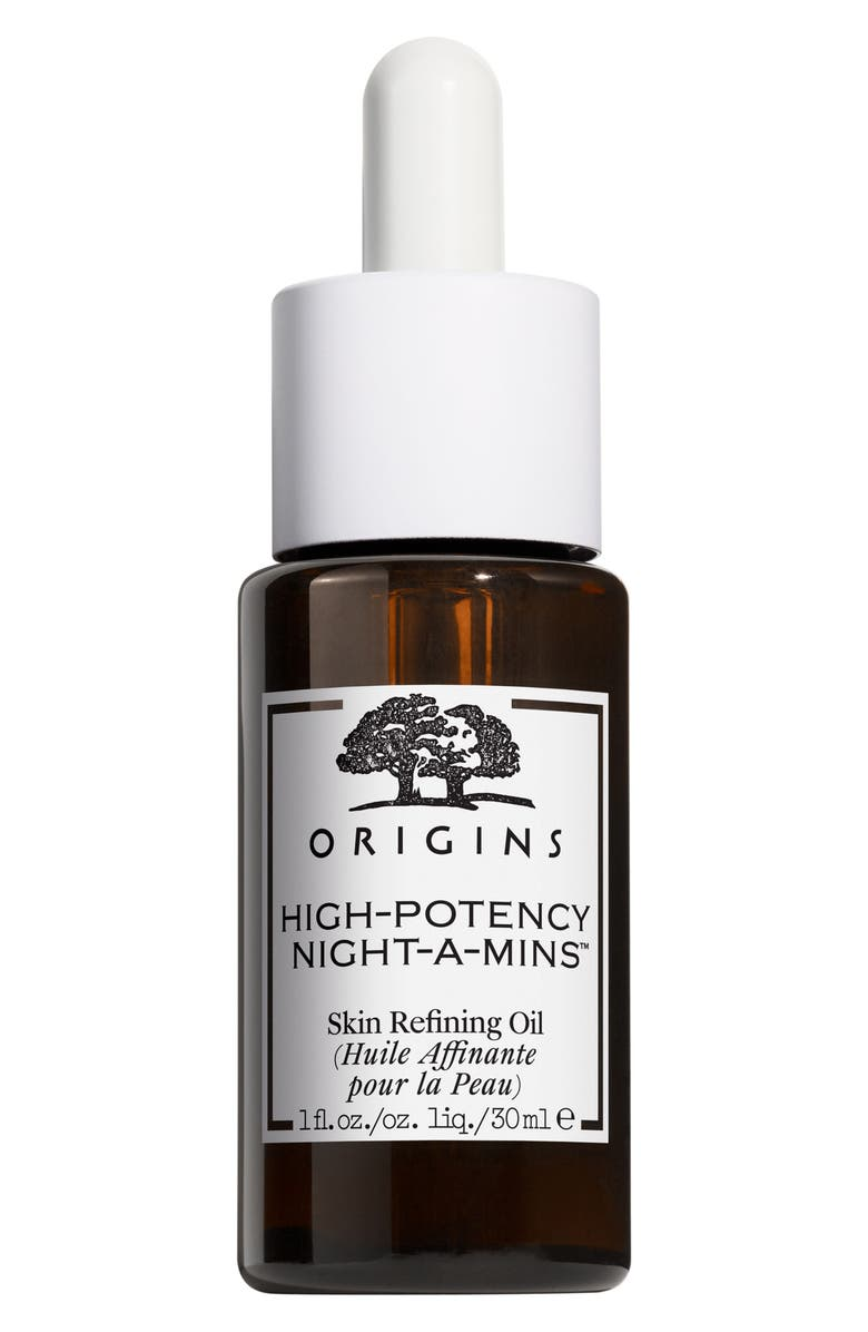 ORIGINS High-Potency Night-A-Mins<sup>™</sup> Skin Refining Oil, Main, color, 000