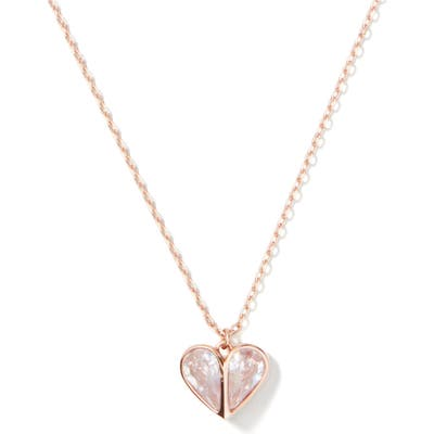 Kate Spade New York Rock Solid Mini Heart Pendant Necklace