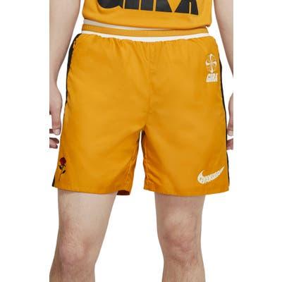 Nike X Undercover Gyakusou Shorts, Yellow