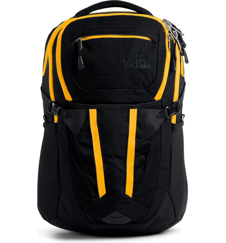 THE NORTH FACE Recon Backpack, Main, color, TNF BLACK/ TNF YELLOW