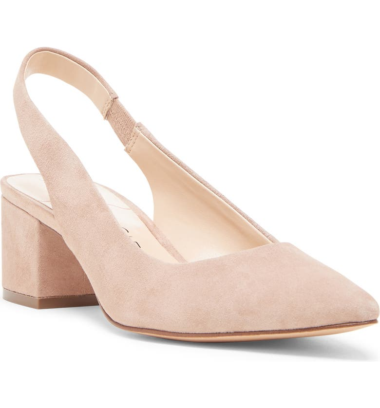 81b72a57e89d4 Sole Society Keilinah Slingback Pointy Toe Pump (Women) | Nordstrom