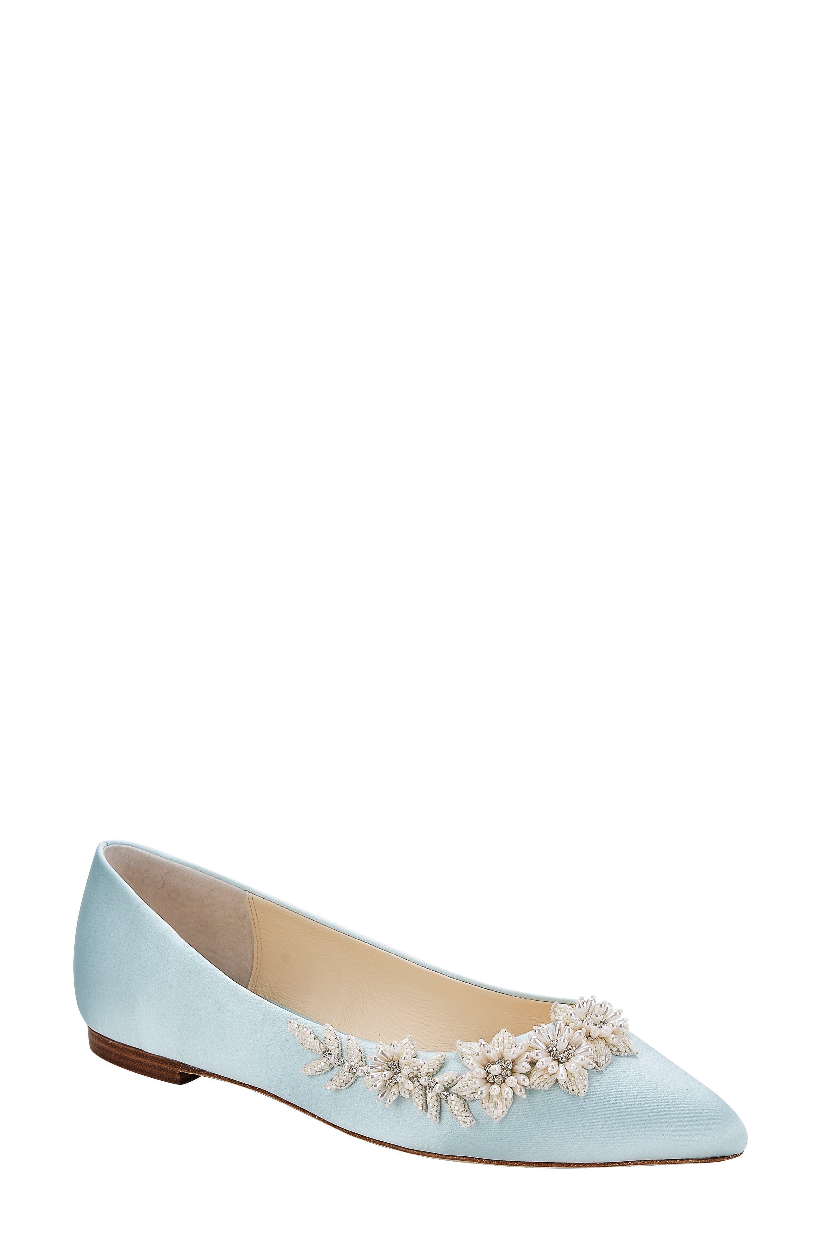 Daisy Embellished Ballet Flat