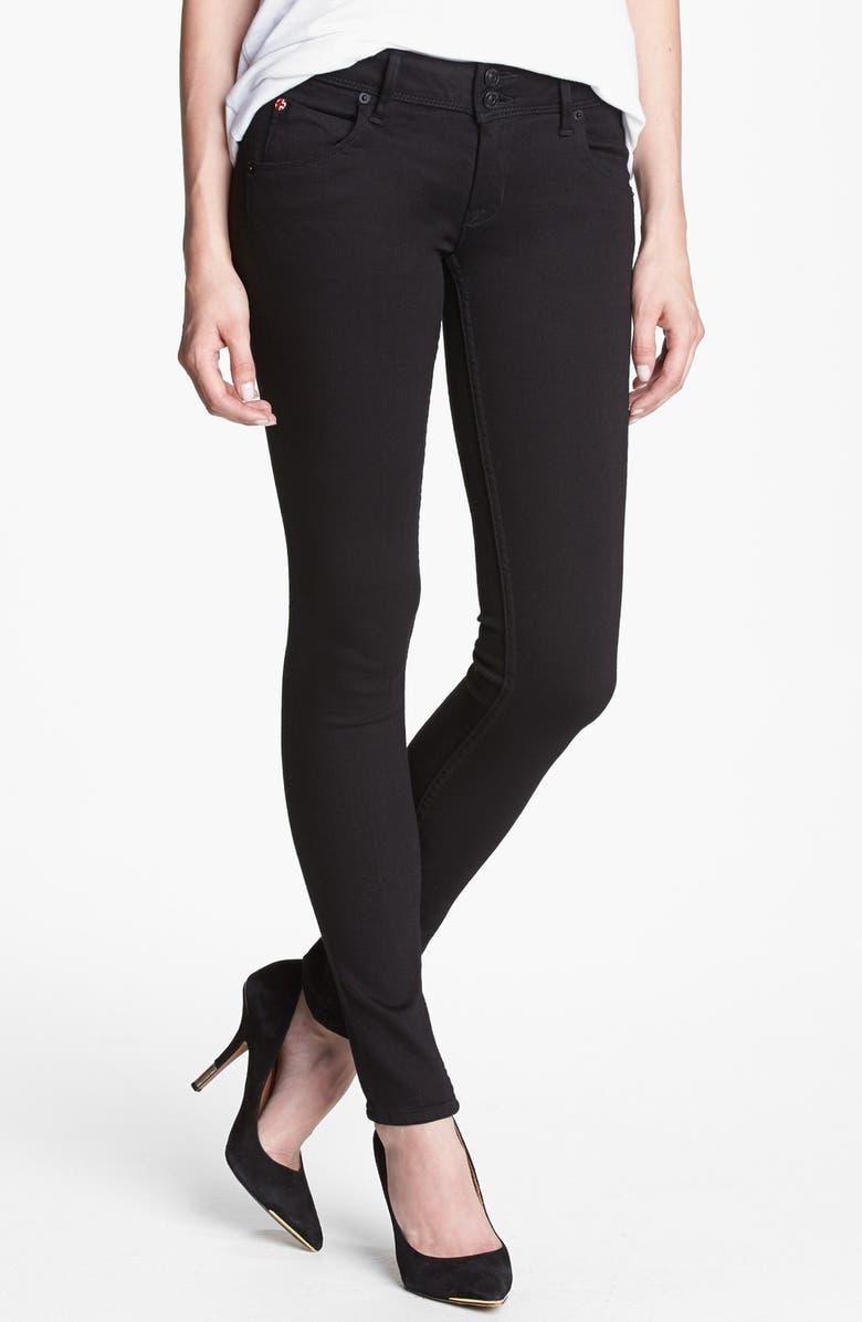 HUDSON JEANS 'Collin' Skinny Jeans, Main, color, 001