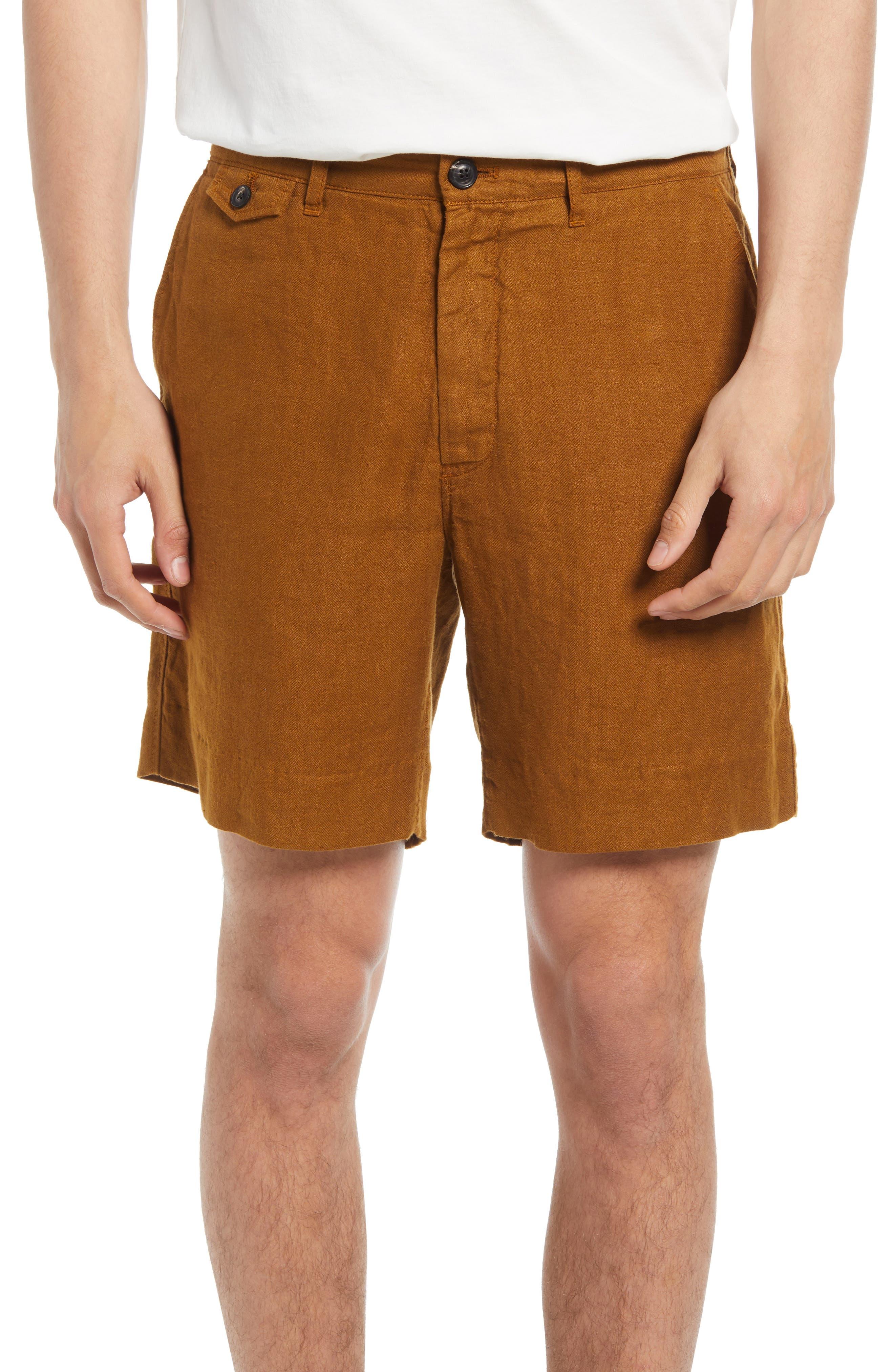 Moore Linen Shorts