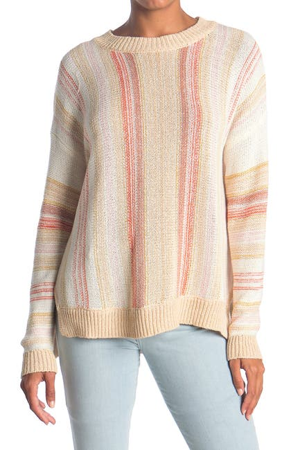 Image of Lush Stripe Knit Sweater