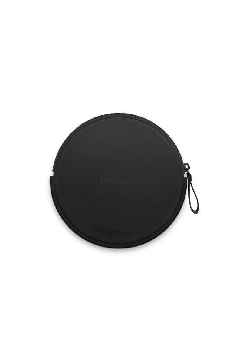 SIMPLEHUMAN Sensor Makeup Mirror Compact Case, Main, color, BLACK