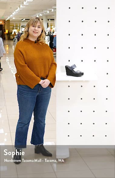 Bungalow Wedge Slide Sandal, sales video thumbnail