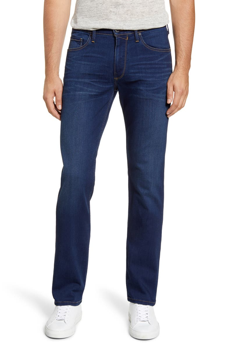 PAIGE Normandie Straight Leg Jeans, Main, color, MARCHAND