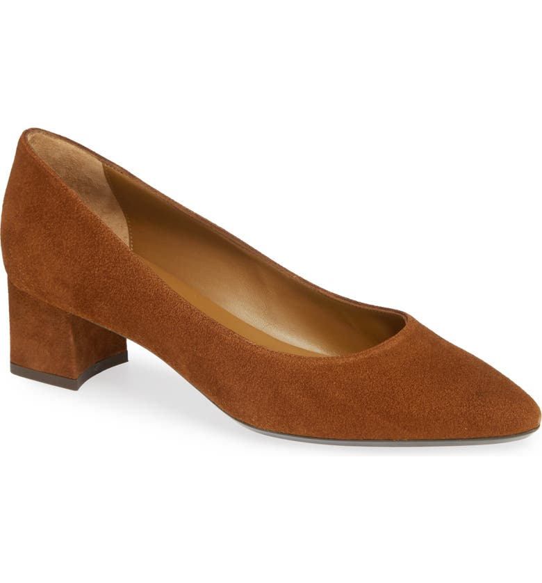 AQUATALIA Pasha Pump, Main, color, CARAMEL SUEDE