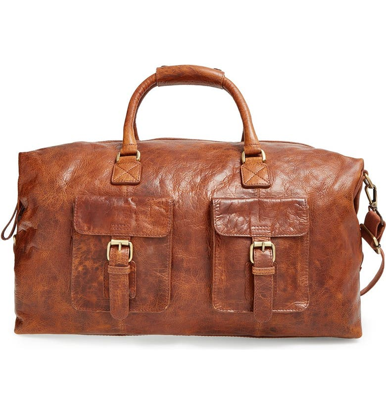 Rawlings Rugged Leather Duffle Bag