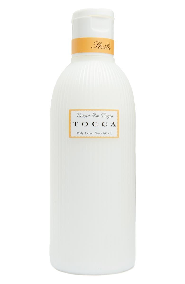 TOCCA Stella Body Lotion, Main, color, NO COLOR