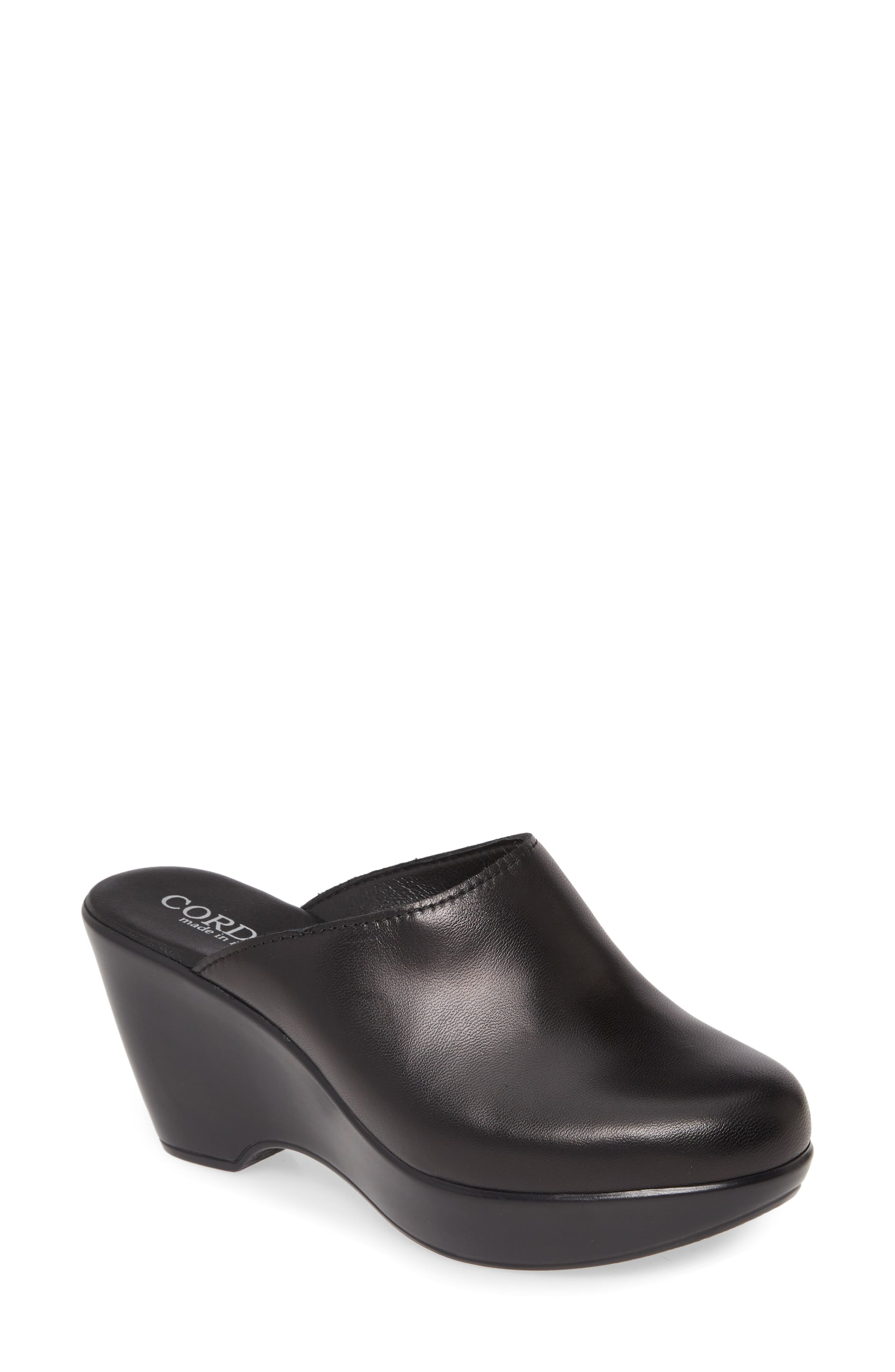 This Italian-crafted clog is set on a lightweight rocker platform that gently propels each step forward while providing all-day comfort. Style Name: Cordani Pierson Clog (Women). Style Number: 5971791. Available in stores.