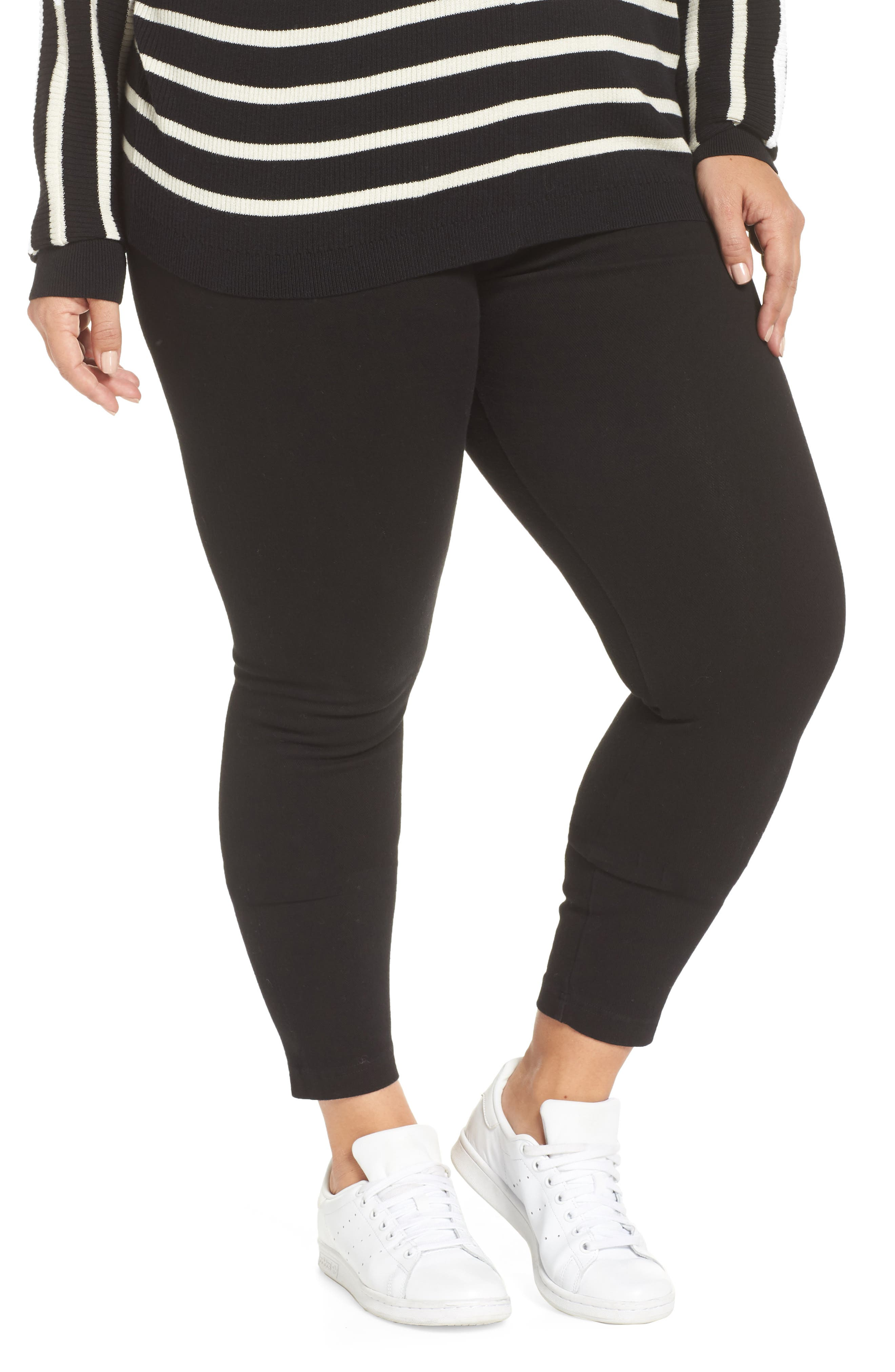 Plus Size Lysse High Rise Stretch Denim Leggings