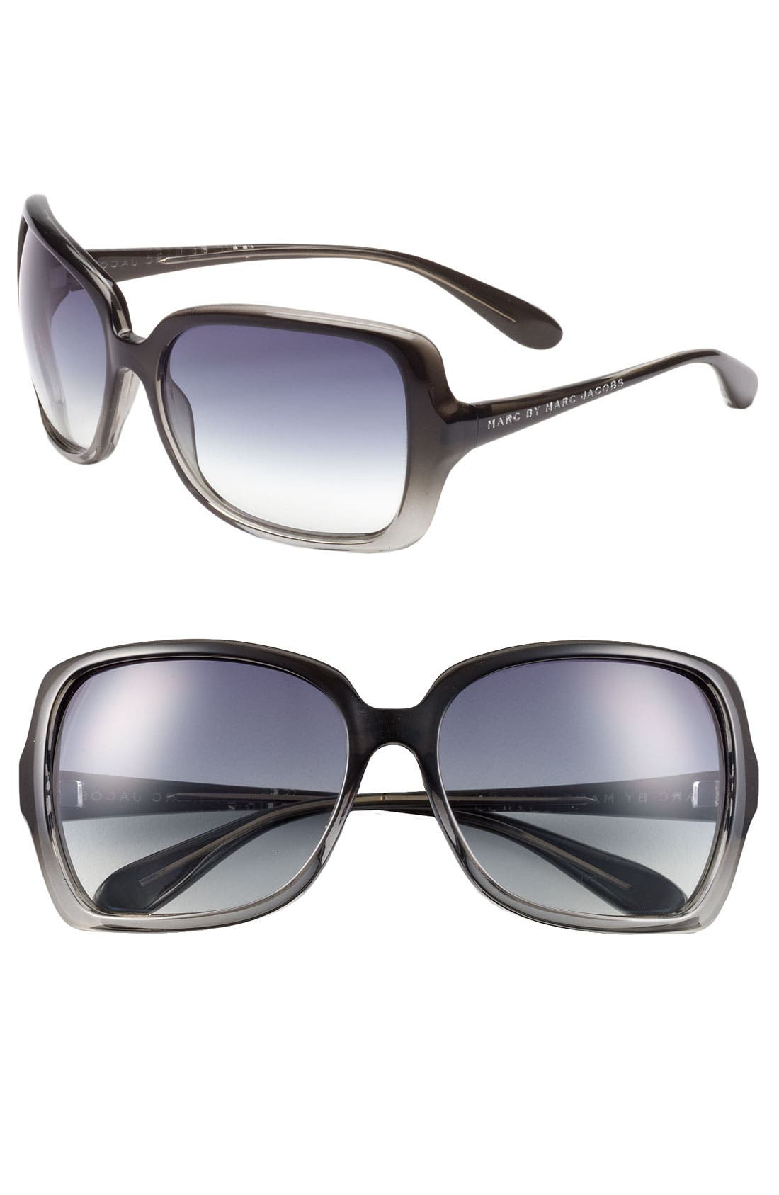 ,                             59mm Vintage Inspired Oversized Sunglasses,                             Main thumbnail 2, color,                             002