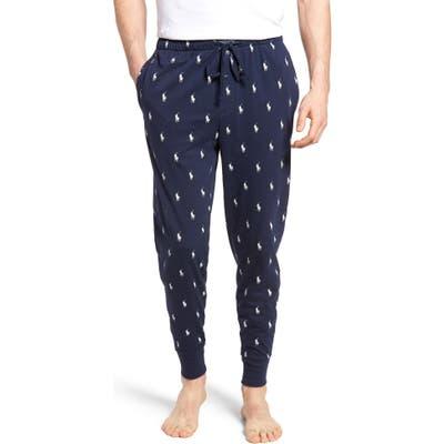 Polo Ralph Lauren Pony Print Pajama Pants, Blue