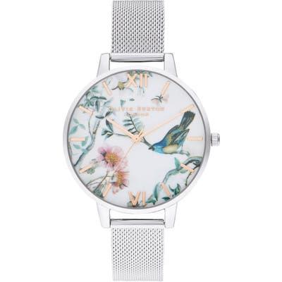 Olivia Burton Painterly Prints Bracelet Watch,