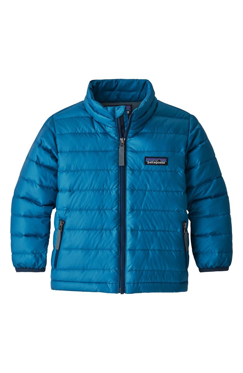 PATAGONIA Water Repellent 600-Fill Power Down Sweater Jacket, Main, color, 400