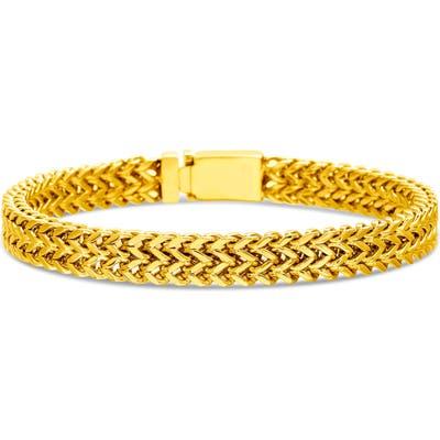 Steve Madden Stainless Steel Foxtail Bracelet