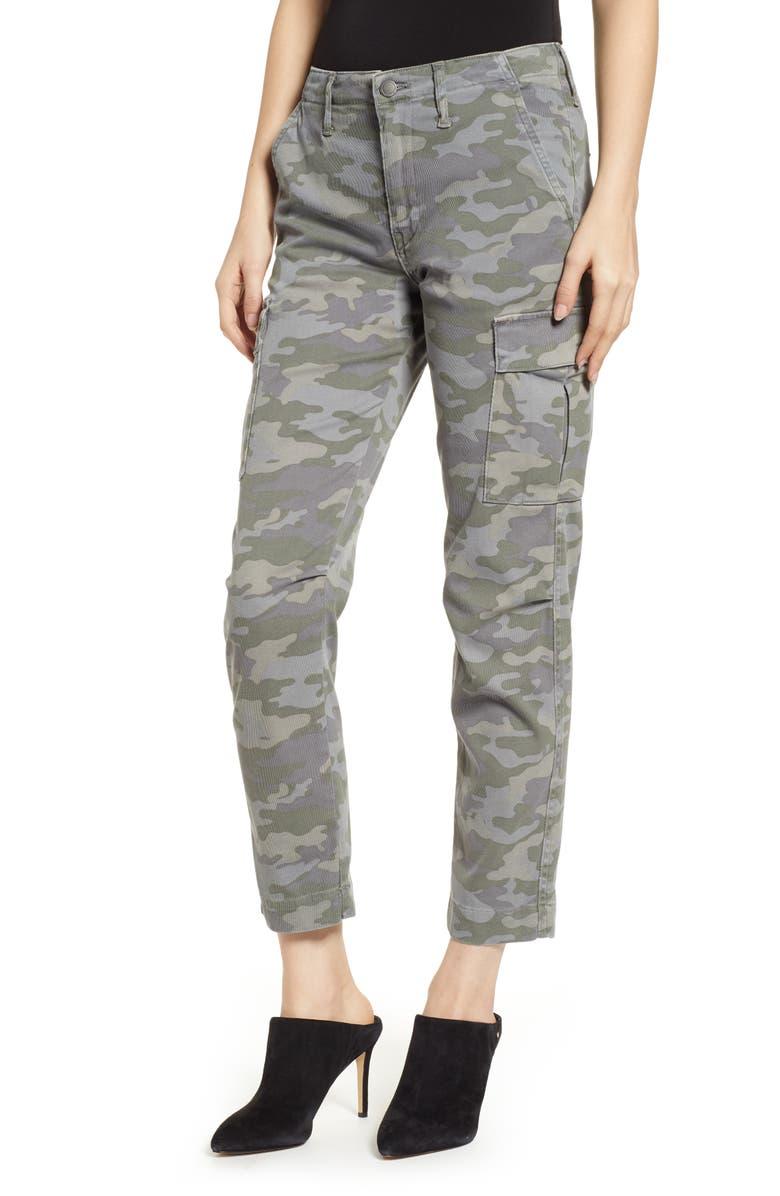 e90853a4a33 Hudson Jane Slim Camo Cargo Pants, Main, color, 310