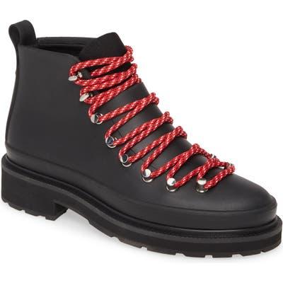 Rag & Bone Compass Hiking Rain Boot, Black