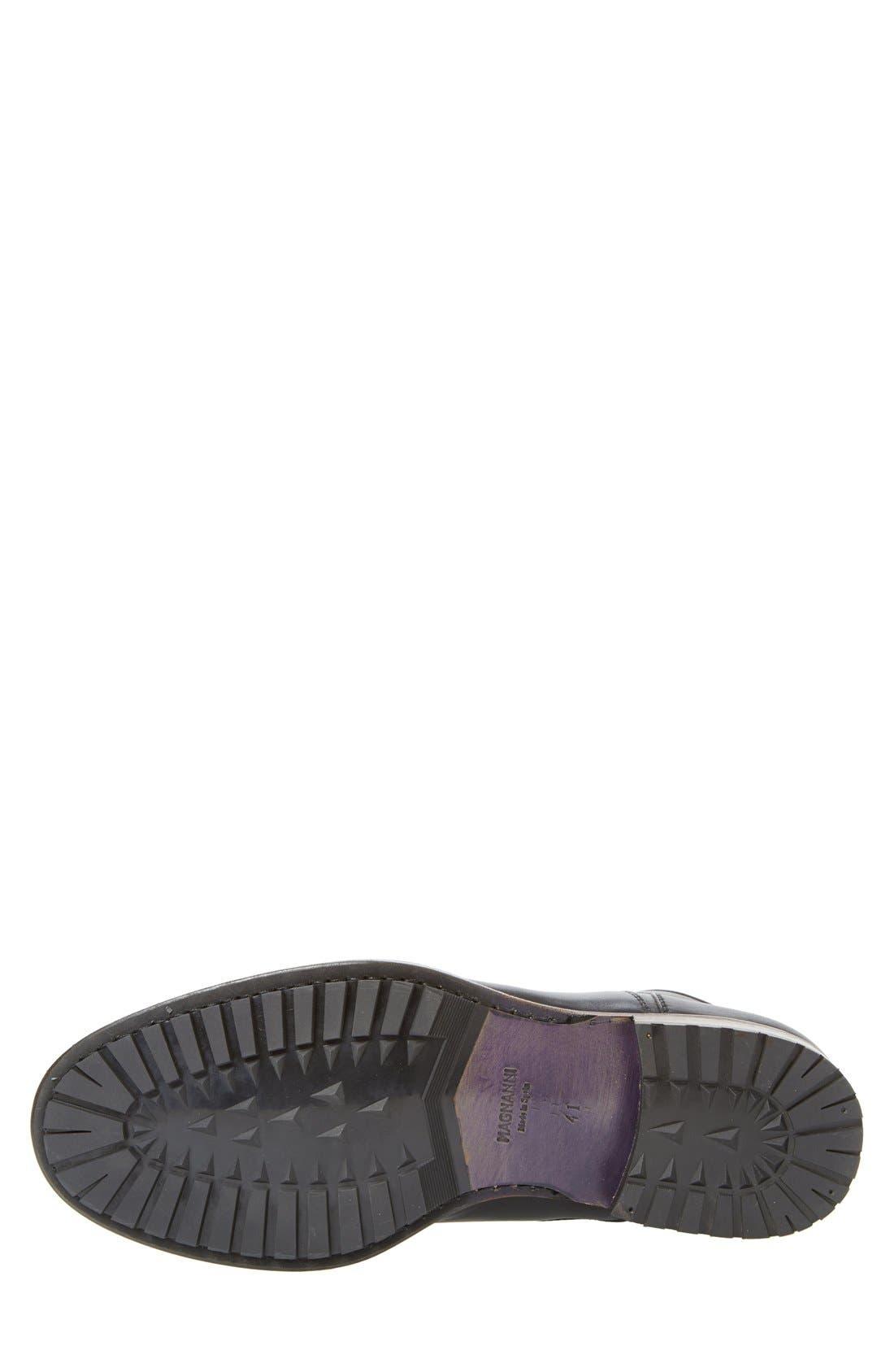 ,                             'Marcelo' Plain Toe Boot,                             Alternate thumbnail 5, color,                             001