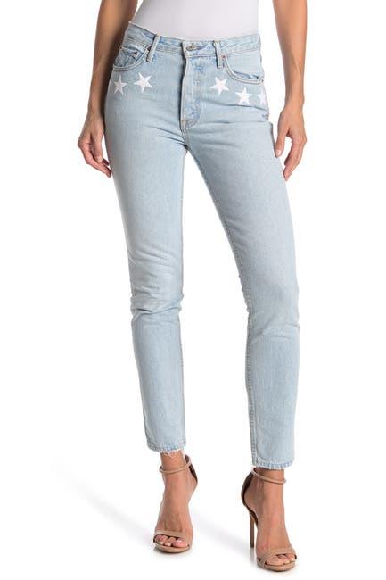 Image of GRLFRND Karolina Star Skinny Jeans