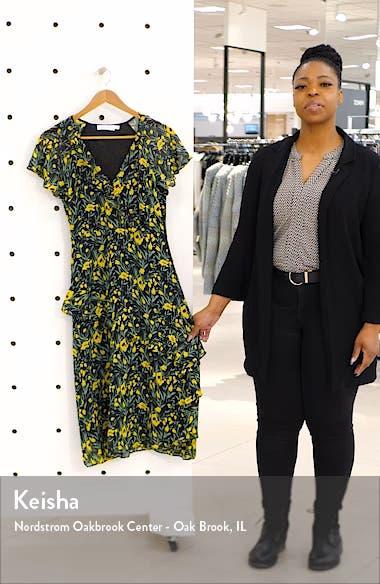 Flutter Sleeve Midi Dress, sales video thumbnail