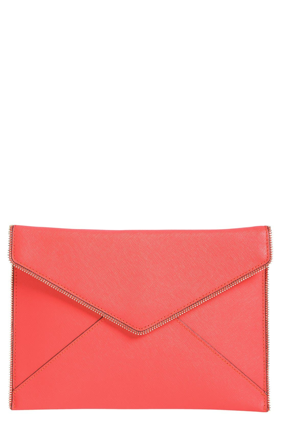 ,                             Leo Envelope Clutch,                             Main thumbnail 327, color,                             950