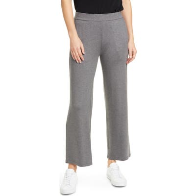 Eileen Fisher Ankle Straight Pants, Grey