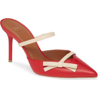 Malone Souliers Bow Band Pump - Red