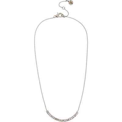 Allsaints Bead Frontal Necklace
