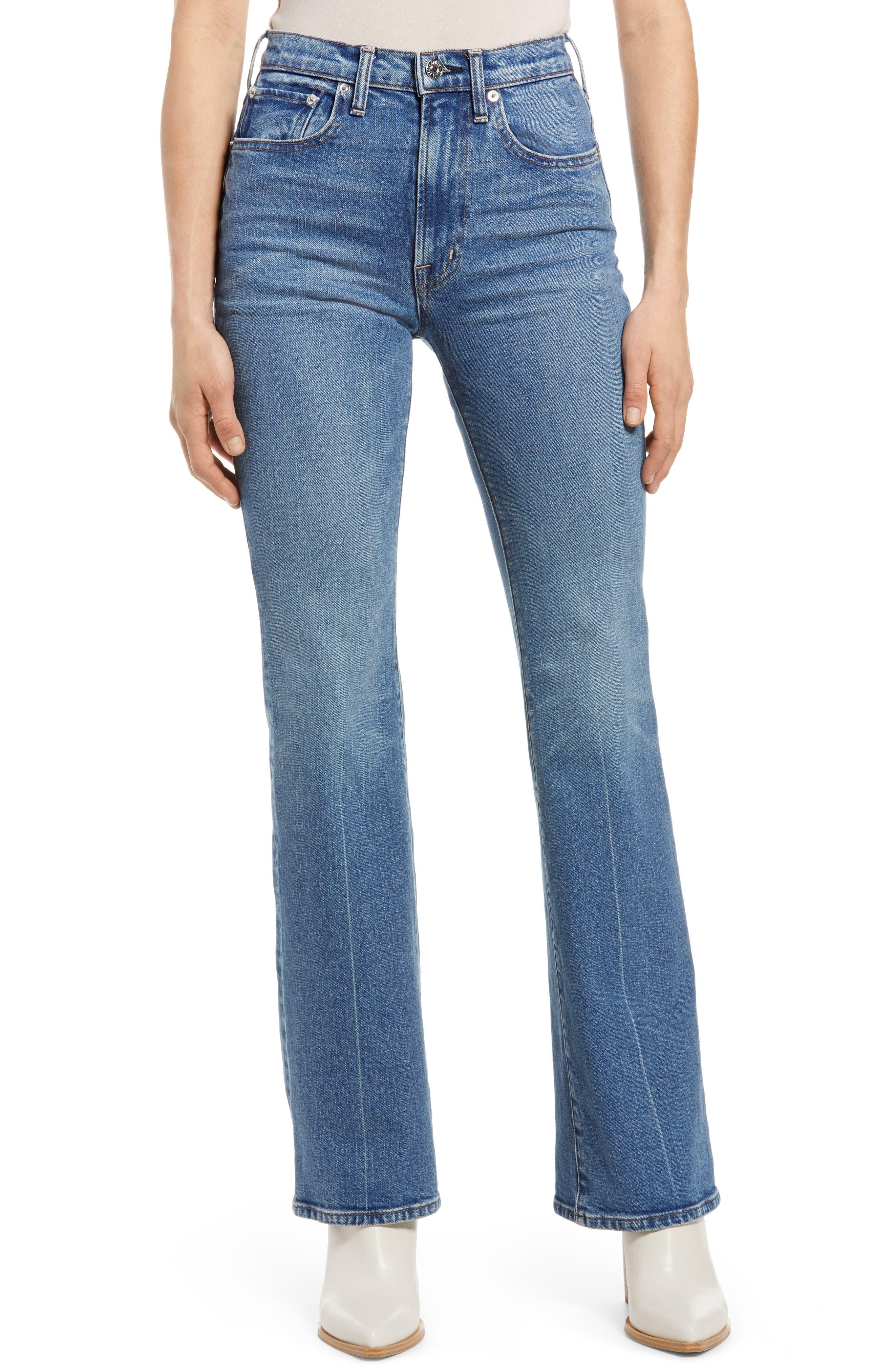 Ryder High Waist Flare Jeans