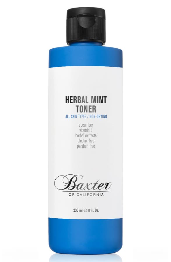 Baxter Of California HERBAL MINT TONER, 8 oz