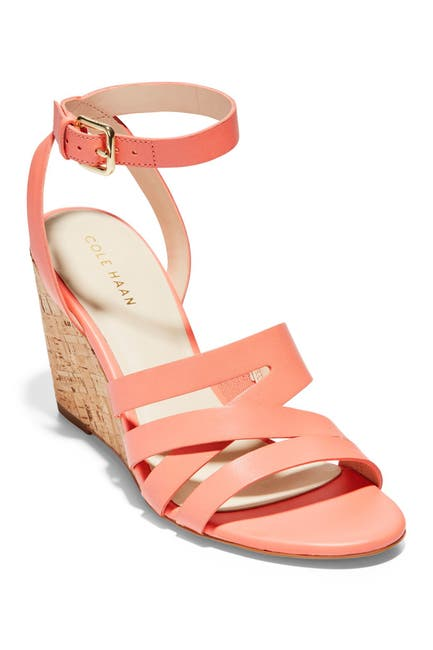Image of Cole Haan Marietta Ankle Strap Wedge Sandal