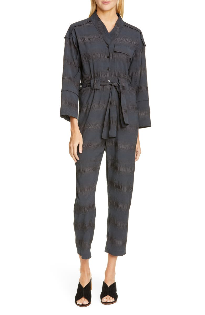 RACHEL COMEY Peddlers Jumpsuit, Main, color, CHARCOAL