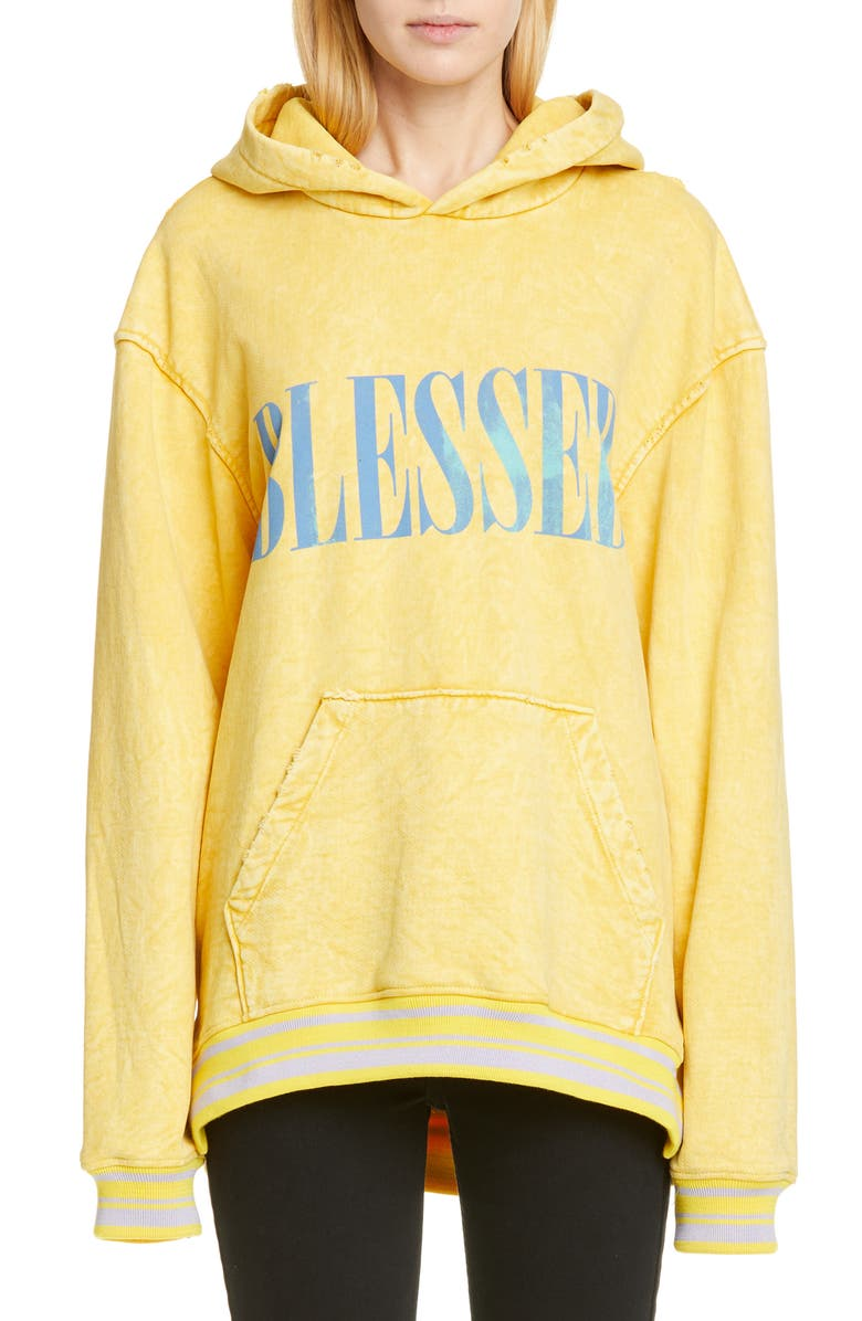 ALCHEMIST Blessed Distressed Hoodie, Main, color, 700