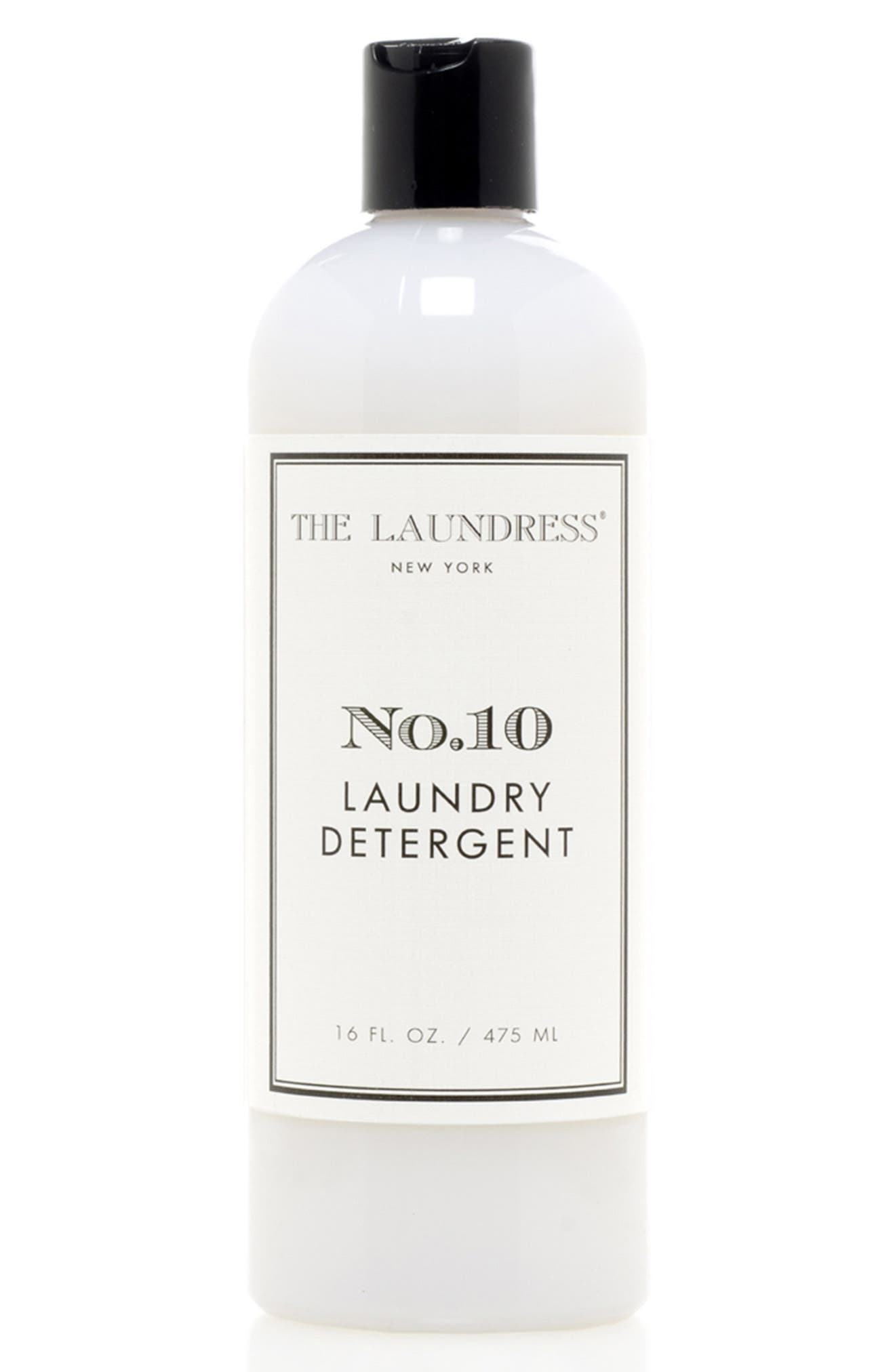 What it it is: A laundry detergent that delivers a sensorial washing experience while whitening, brightening, preserving color and removing stains. Fragrance story: This rich and sophisticated fragrance blends bold spice and warm musk with pure and fresh powder notes-this is laundry after all. Style Name: The Laundress No.10 Laundry Detergent. Style Number: 6153028. Available in stores.