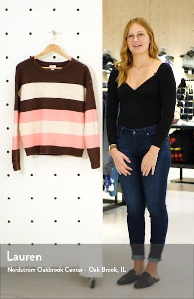 Shoulder Button Sweater, sales video thumbnail