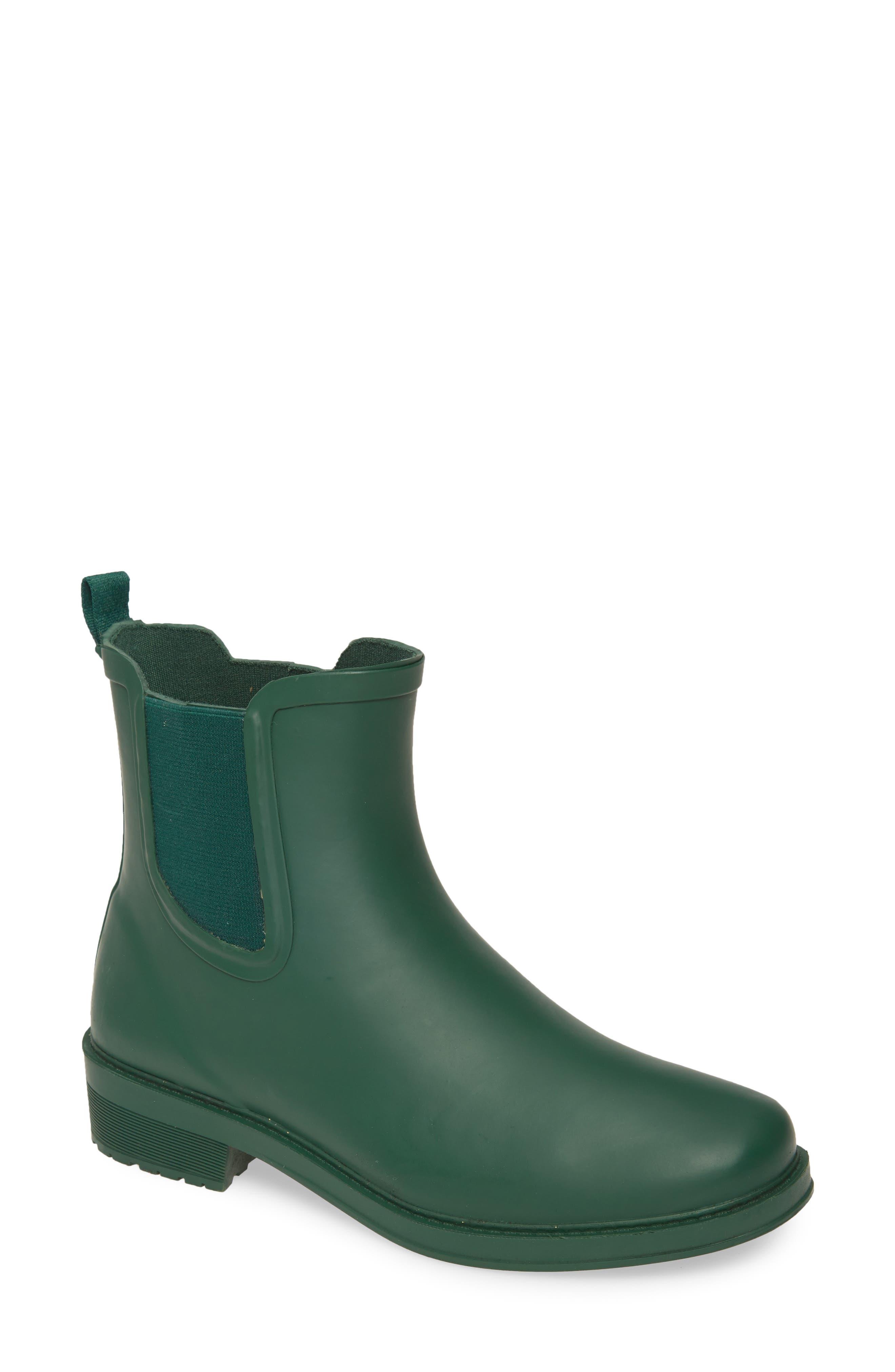 J.Crew Chelsea Matte Rain Boot (Women