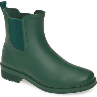 J.crew Chelsea Matte Rain Boot, Green