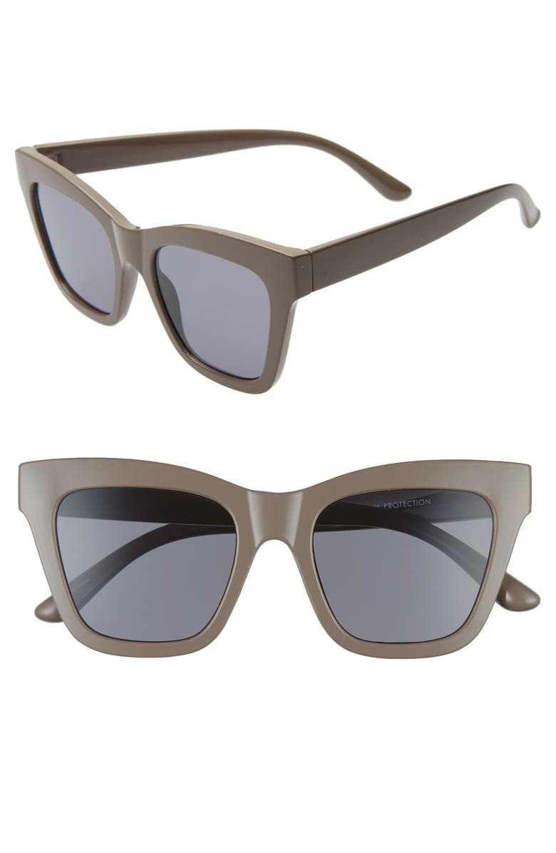 BP. 51mm Square Sunglasses, Main, color, 250