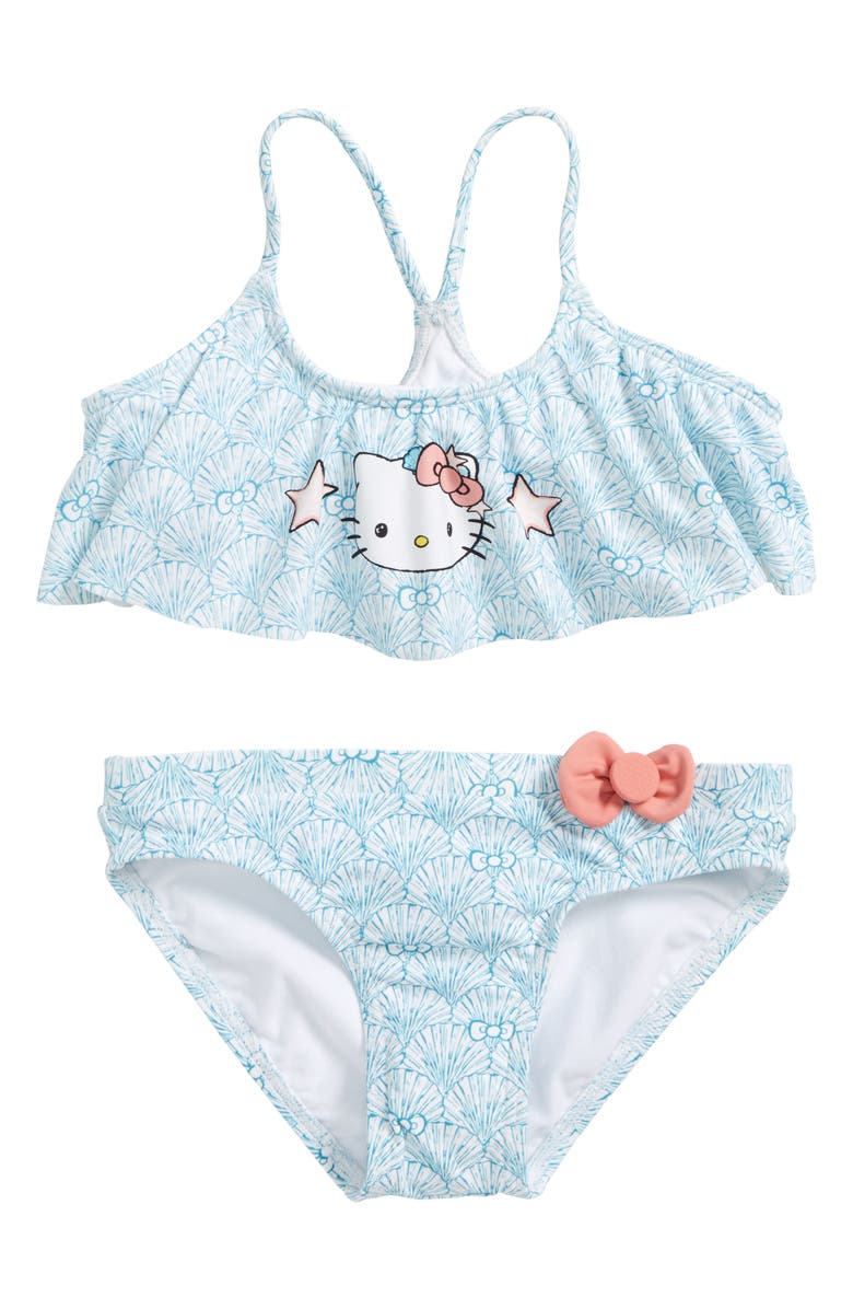 879bbe7292c O'Neill x Hello Kitty® Shelly Flounce Two-Piece Swimsuit (Toddler ...