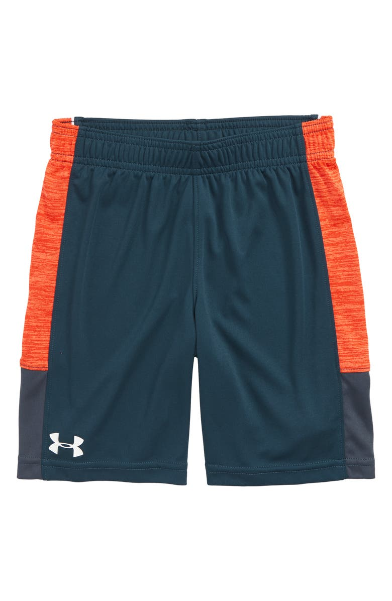 UNDER ARMOUR HeatGear<sup>®</sup> Tricera Shorts, Main, color, TANDEM TEAL
