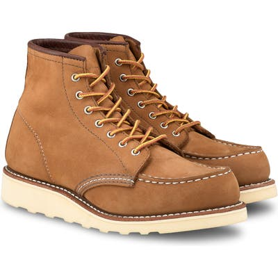 Red Wing 6-Inch Moc Boot, Brown