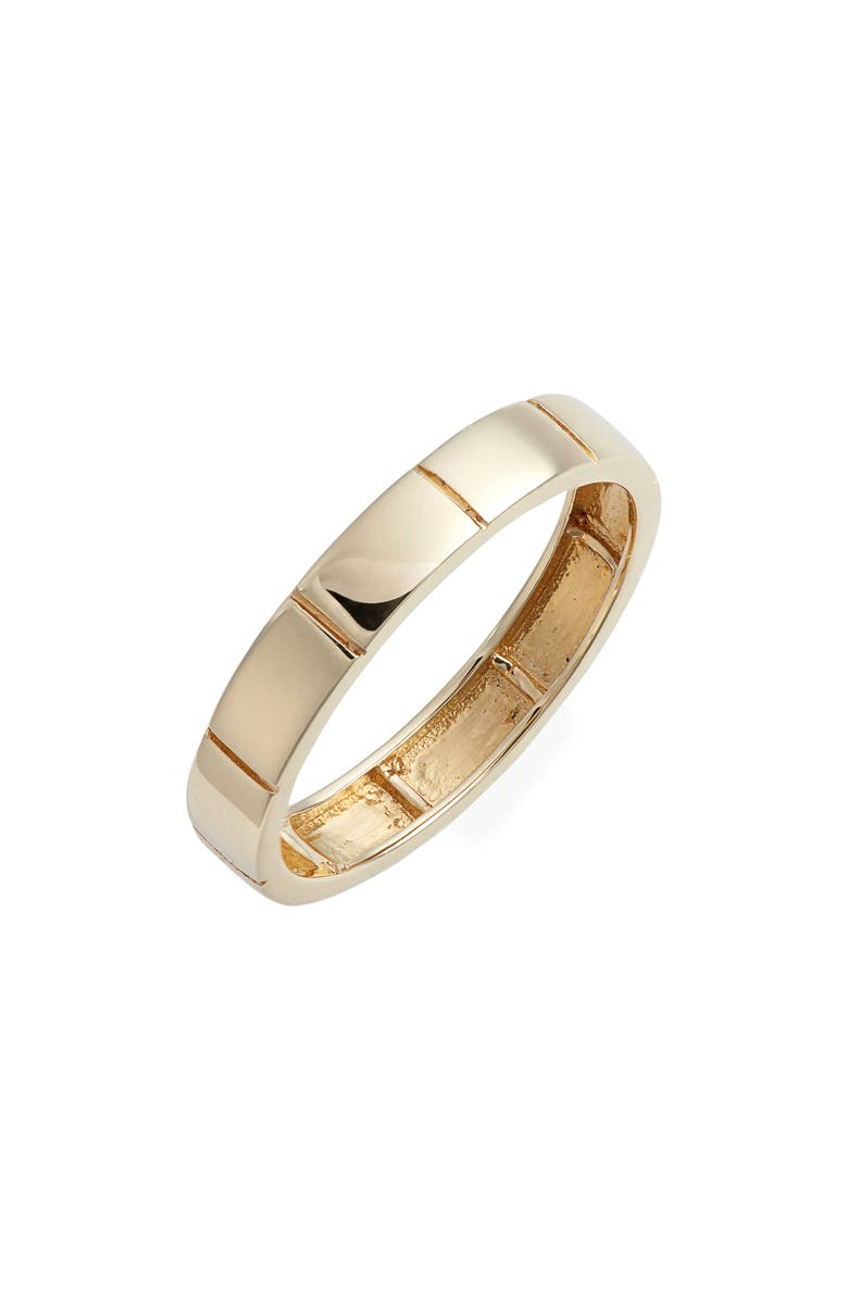 BONY LEVY 14K Gold Band Ring, Main, color, YELLOW GOLD