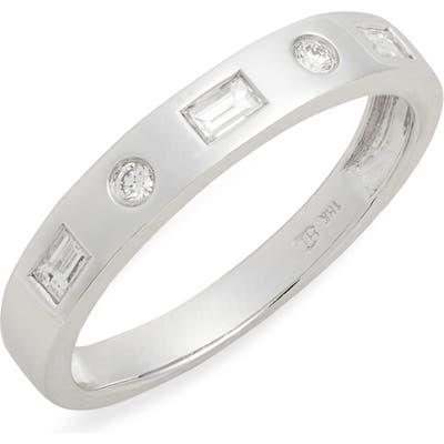 Bony Levy Ofira Mixed Diamond Band Ring (Nordstrom Exclusive)