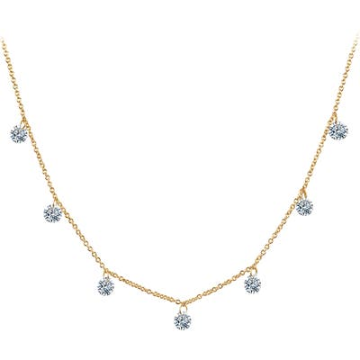 Lafonn Lassaire In Motion Frameless Raindrop Necklace